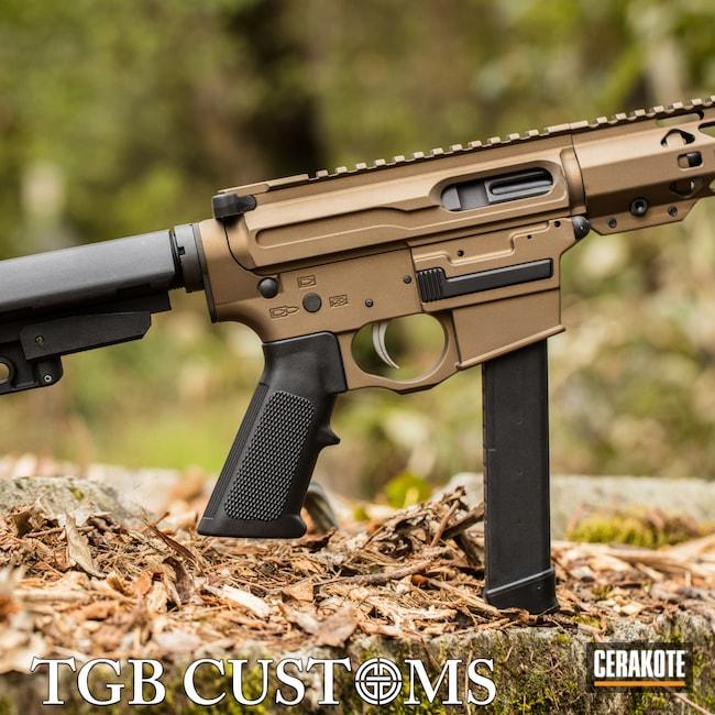 Cerakoted: S.H.O.T,9mm,AR Custom Build,Burnt Bronze H-148,Spikes,AR9