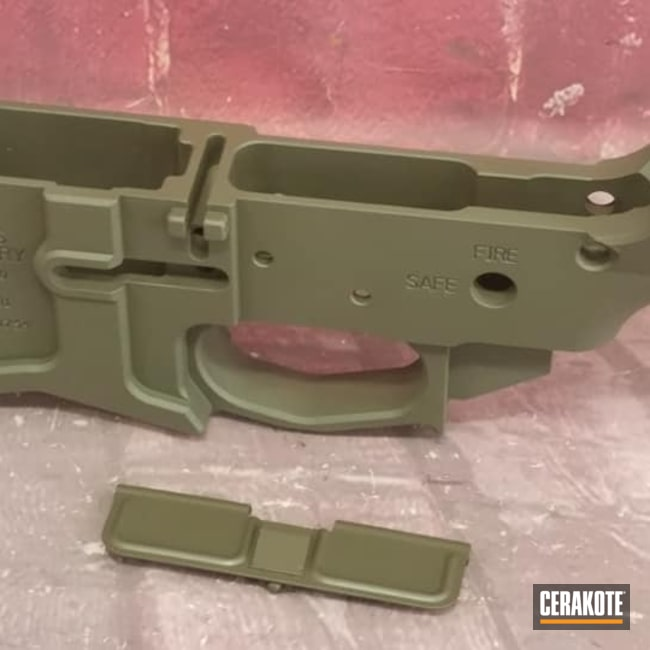 Cerakoted: S.H.O.T,Lower,MagPul,AR,AR Project,Gun Parts,MAGPUL® O.D. GREEN H-232,AR Build
