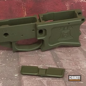 Ar Lower Cerakoted Using Magpul® O.d. Green