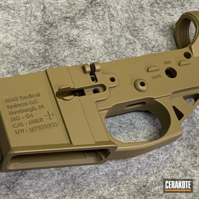 Cerakoted: S.H.O.T,Coyote Tan H-235,AR Upper