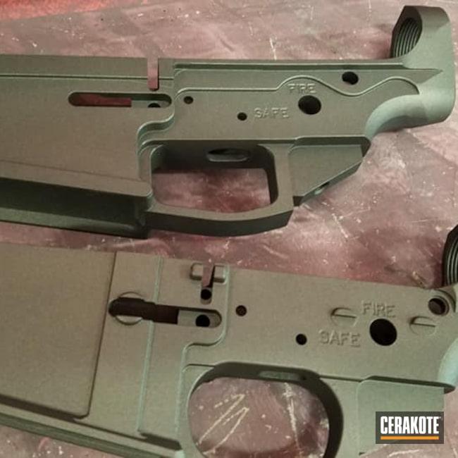 Cerakoted: S.H.O.T,Lower,Tungsten H-237,Gun Parts,AR Build,AR-15,AR15 Lower