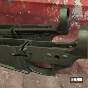 Ar Lowers Cerakoted Using Tungsten