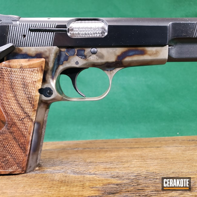 Cerakoted: S.H.O.T,Hi-Power,Browning,HIGH GLOSS ARMOR CLEAR H-300