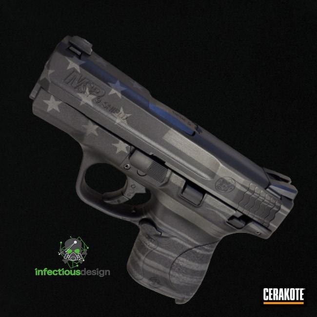 Cerakoted: S.H.O.T,M&P,M&P Shield 9mm,Graphite Black H-146,Smith & Wesson