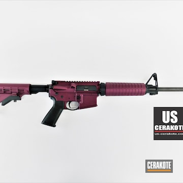 Ruger Ar Cerakoted Using Black Cherry