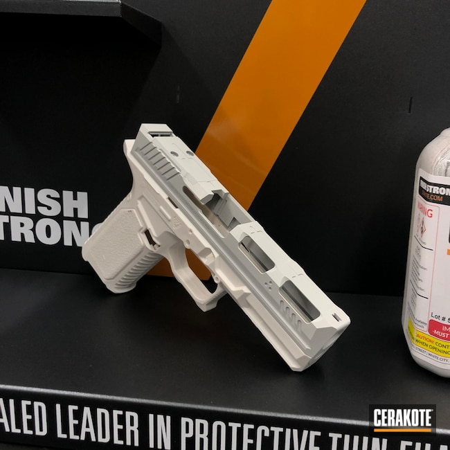 Si Glock 17 Slide Cerakoted Using Frost