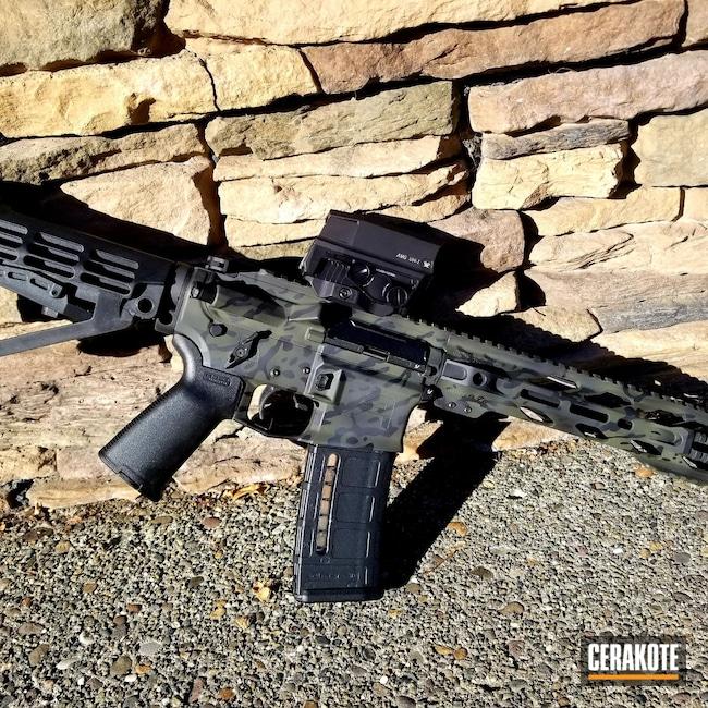 Cerakoted: S.H.O.T,Sniper Grey H-234,AR Pistol,Truck Gun,Armor Black H-190,O.D. Green H-236,MultiCam Black