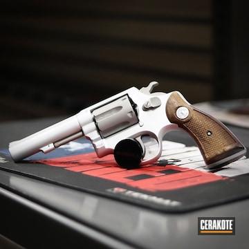 Taurus Revolver Cerakoted Using Savage® Stainless And Satin Aluminum