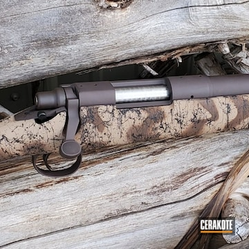 Remington 700 Cerakoted Using Vortex® Bronze