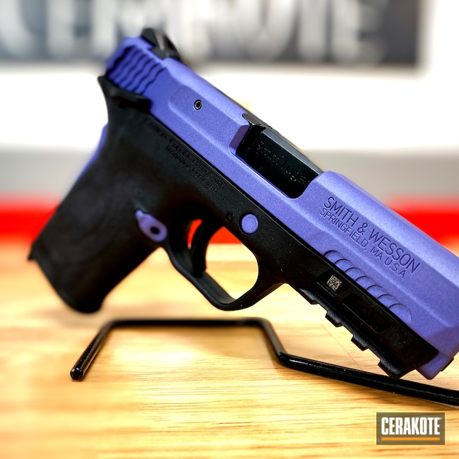 Cerakoted: S.H.O.T,Cerakote,Smith & Wesson,EZ9,CRUSHED ORCHID H-314