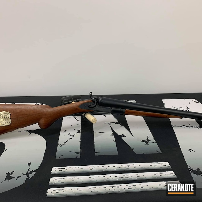 Cerakoted: S.H.O.T,Midnight Blue H-238,Shotgun,Socom Blue H-245,Blueing,Colt,Restoration,Armor Black H-190,DoubleC,Wells Fargo