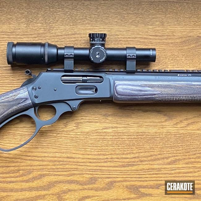 Cerakoted: S.H.O.T,Sniper Grey H-234,Marlin,Hunting Rifle,Big Bore,Cowboy Gun,45-70,1895,Lever Action,Firearms
