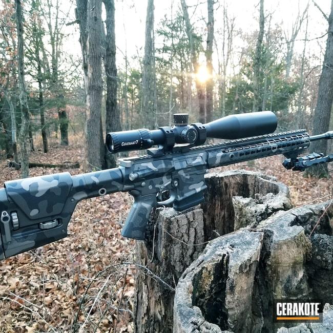 Cerakoted: S.H.O.T,Aero Precision,m5,Sniper Grey H-234,Woodland Camo,AR-10,Tungsten H-237,Titanium H-170,Cobalt H-112,MATTE CERAMIC CLEAR MC-157,Custom Camo