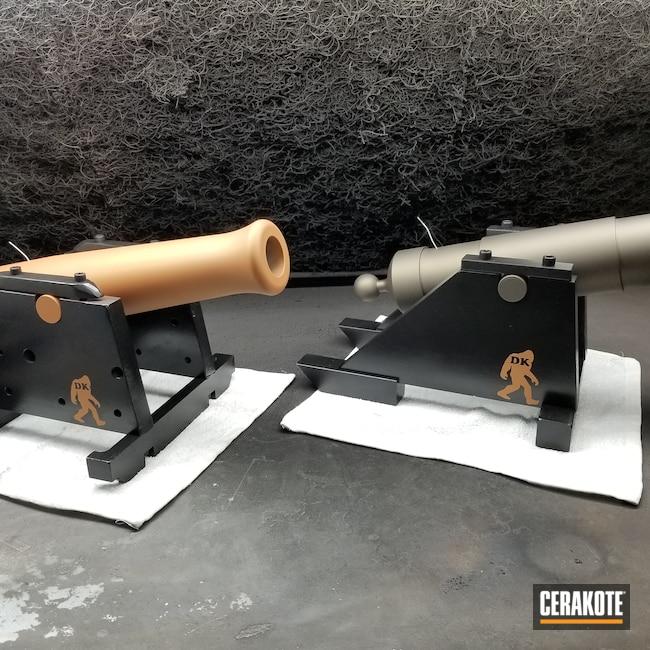 Cerakoted: S.H.O.T,COPPER H-347,Black Powder,Golf Ball Cannon,Gloss Black H-109,Billiards Ball Cannon,Midnight Bronze H-294,Cannon