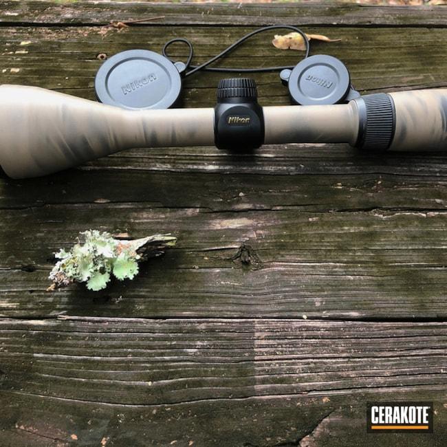 Nikon Buckmaster Scope Cerakoted Using Armor Black And Flat Dark Earth