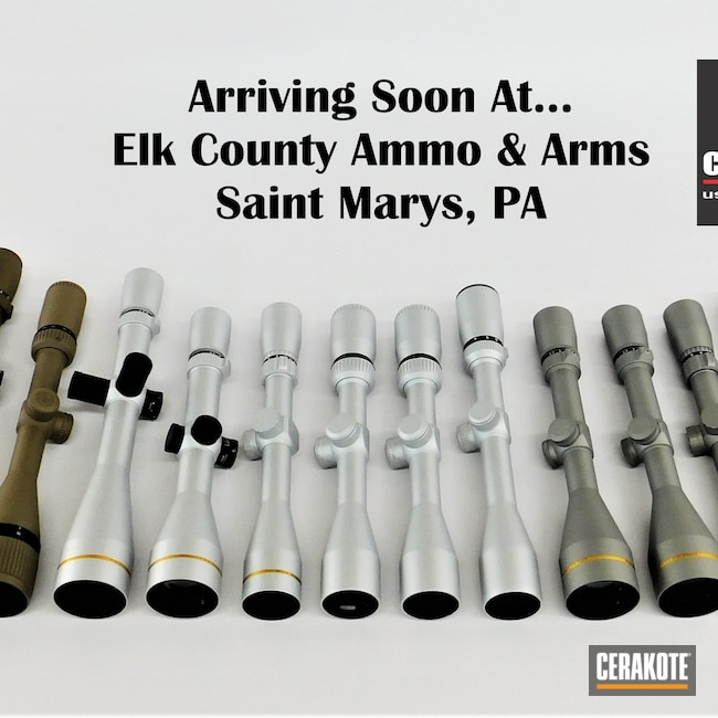 Cerakoted: S.H.O.T,Trophy,Tungsten H-237,Gun Parts,Crossfire,vx-3i,Flat Dark Earth H-265,Vortex,Scope,Scopes,Vortex Scope,Leupold Scope,Burnt Bronze H-148,Bushnell,Satin Aluminum H-151,Titanium H-170,Bushnell Scope,VX-5HD,Leupold