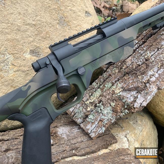 Cerakoted: S.H.O.T,MultiCam,Sniper Rifle,Graphite Black H-146,Desert Sand H-199,Mossberg,Forest Green H-248,Camo Sniper,7.62,MVP