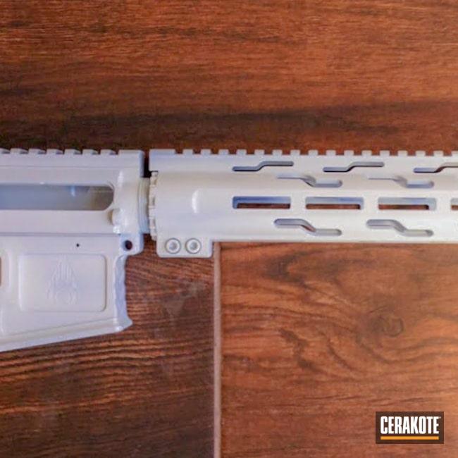 Cerakoted: S.H.O.T,AR,Stormtrooper White H-297,AR-15,AR-10 Builders Set
