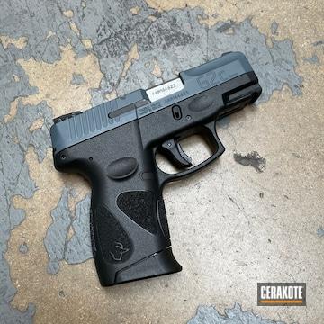 Taurus G2 Pistol Cerakoted Using Jesse James Cold War Grey