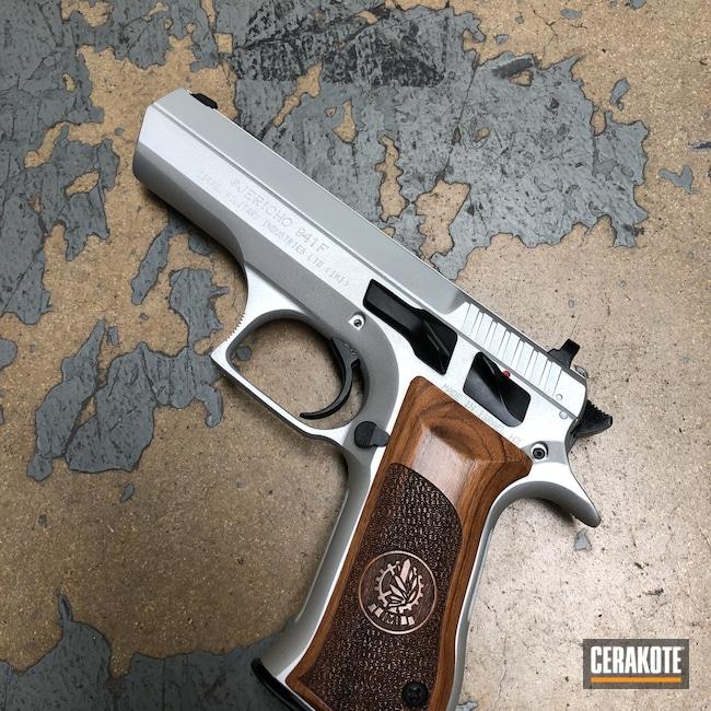 Cerakoted: S.H.O.T,IWI Jericho 941,Satin Aluminum H-151,Pistol,IWI,Handguns,Jericho