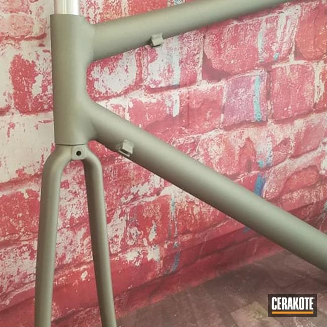 Cerakoted: Bicycle Frame,Bicycle,Titanium H-170,Outdoors