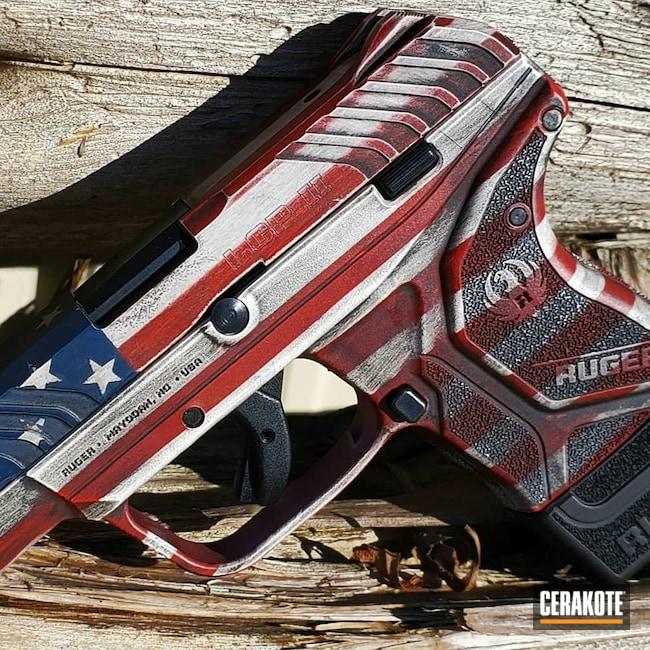 Cerakoted: S.H.O.T,LCP,Bright White H-140,Ruger,Graphite Black H-146,.380,Ruger LCP,USMC Red H-167,Pistol,KEL-TEC® NAVY BLUE H-127