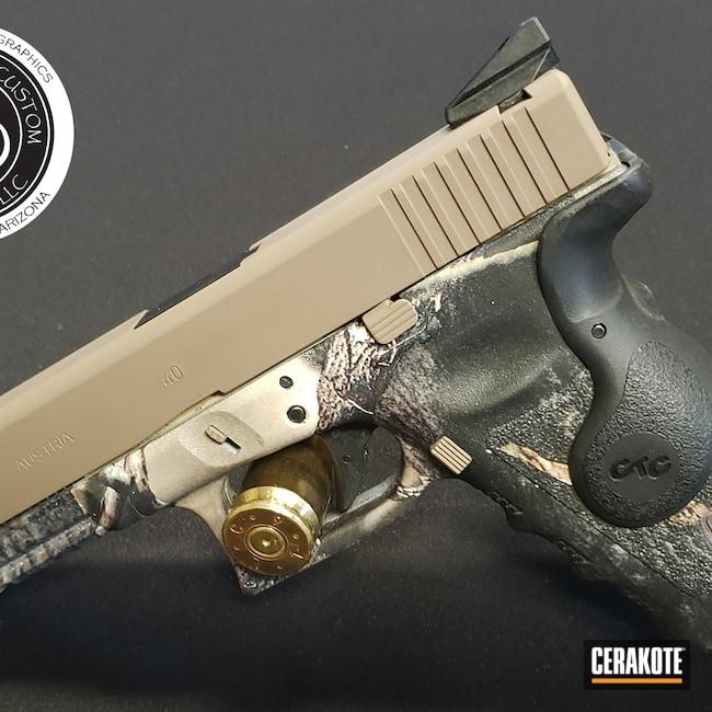 Cerakoted: S.H.O.T,MCMILLAN® TAN H-203,Glock,.40