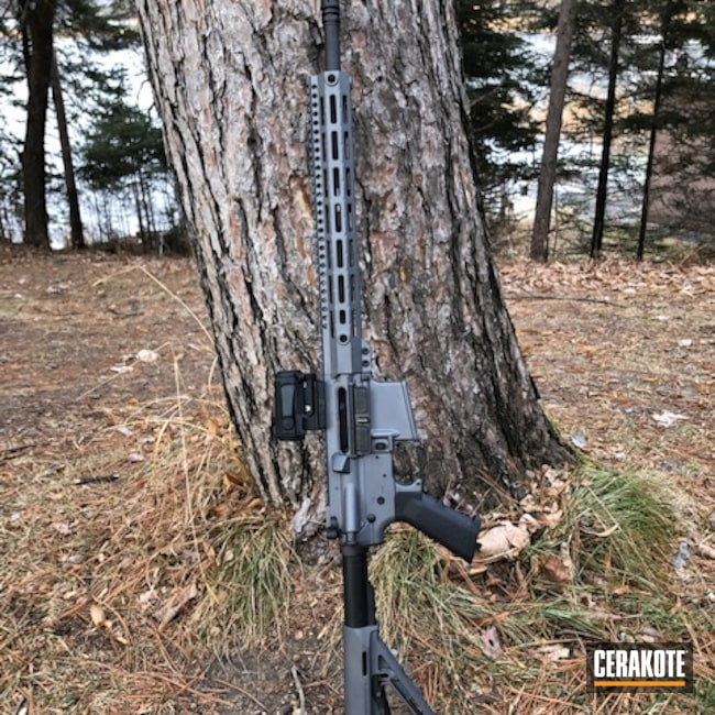 Cerakoted: S.H.O.T,Rifle,Graphite Black H-146,AR Project,Tactical Rifle,.223,DPMS,5.56,AR-15