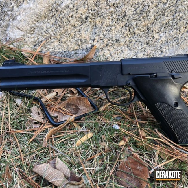 Cerakoted: S.H.O.T,Midnight Blue H-238,Fire Restoration,Colt,Family Heirloom,.22LR,Match Target,.22