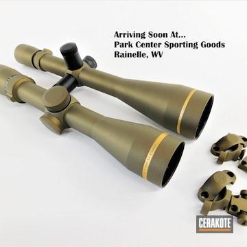 Leupold Scopes Cerakoted Using Burnt Bronze