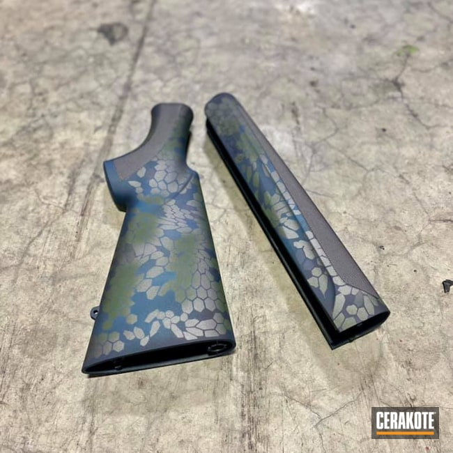 Cerakoted: S.H.O.T,Sniper Grey H-234,Tungsten H-237,Camo,12 Gauge,Beretta,MULTICAM® DARK GREEN H-341,Blue Titanium H-185