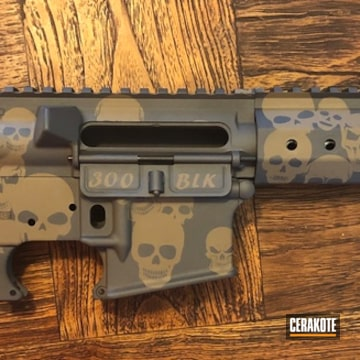 Ar Builders Set Cerakoted Using Sniper Grey And Flat Dark Earth