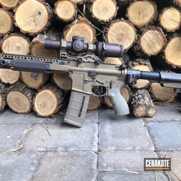 Bcm Ar Build Cerakoted Using Vortex® Bronze And Burnt Bronze