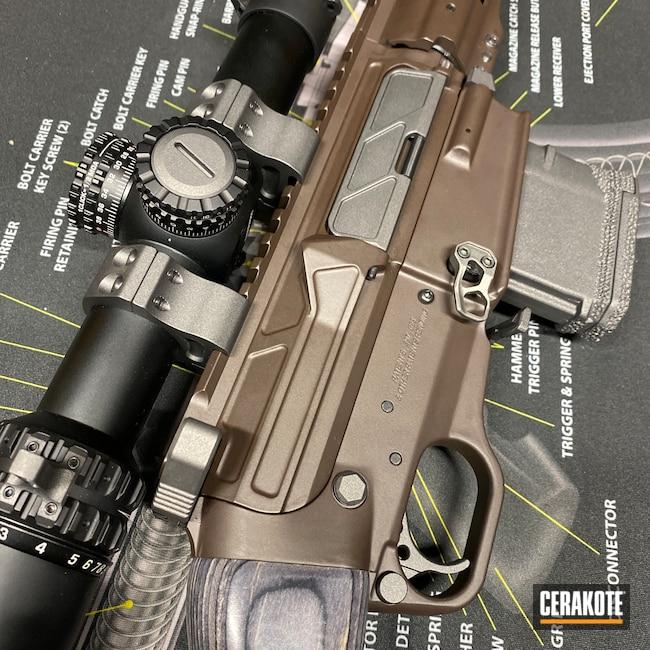 Cerakoted: S.H.O.T,SCR,VORTEX® BRONZE H-293,AR,Odin Works,Tungsten H-237,6.5 Grendel,AR Build