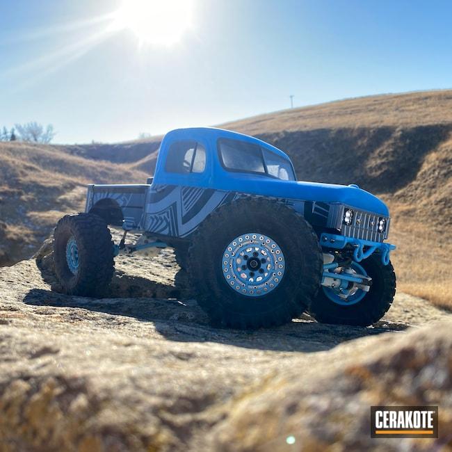 Cerakoted: RC Car Parts Cerakote Coated,Stormtrooper White H-297,BLUE RASPBERRY H-329,RC Truck,RC Car