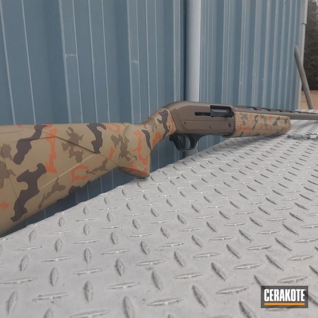 Cerakoted: S.H.O.T,Winchester,Sniper Grey H-234,COPPER SUEDE H-310,Burnt Bronze H-148,12 Gauge,Camouflage,sx3,GLOCK® FDE H-261,Chocolate Brown H-258