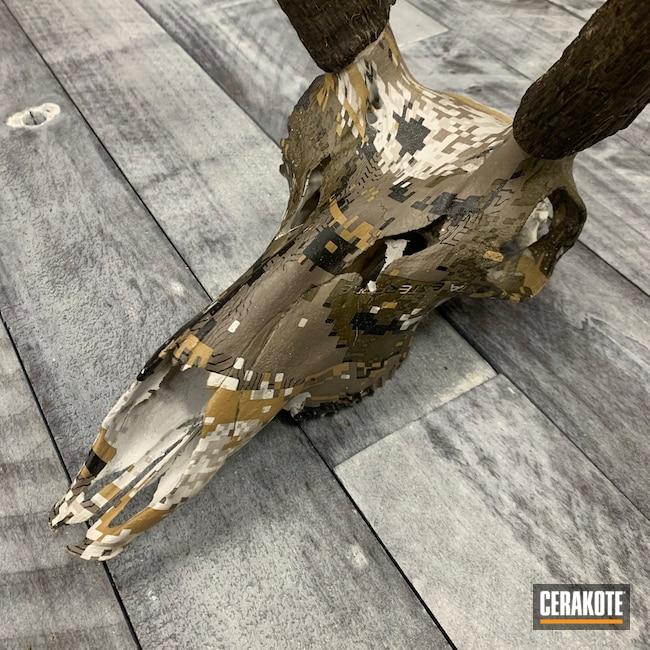 Cerakoted: Hydrographics,Skull,MATTE CERAMIC CLEAR MC-161,Matte Clear Coat