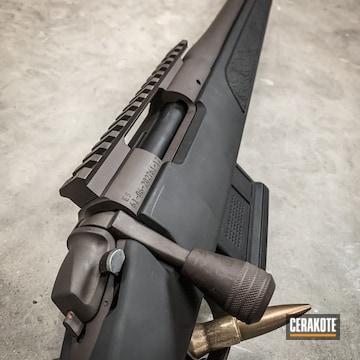 Bergara Bolt Action Rifle Cerakoted Using Vortex® Bronze And Armor Black