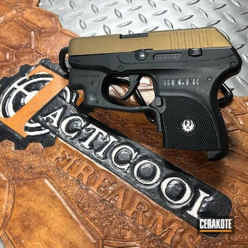 Ruger Lpc Slide Cerakoted Using Burnt Bronze