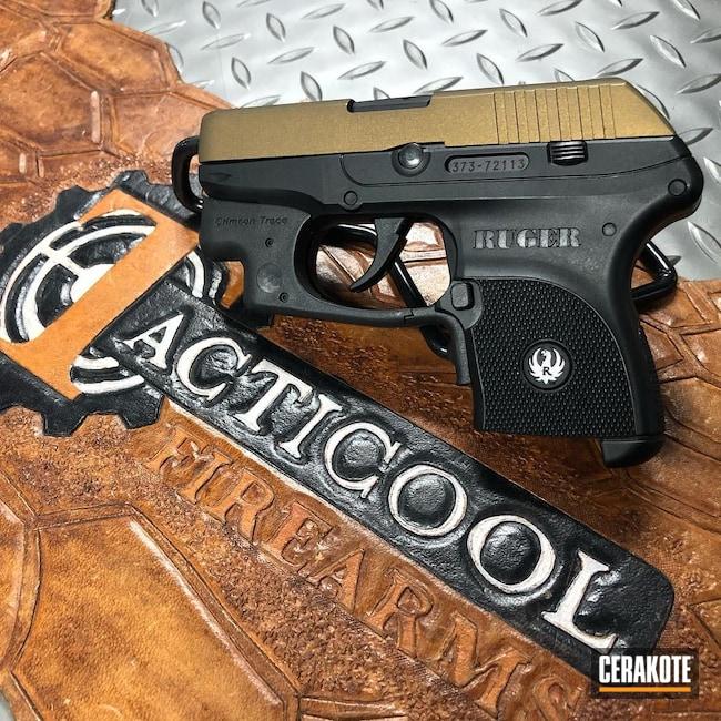 Cerakoted: S.H.O.T,Ruger,.380,Ruger LCP,Burnt Bronze H-148,Pistol