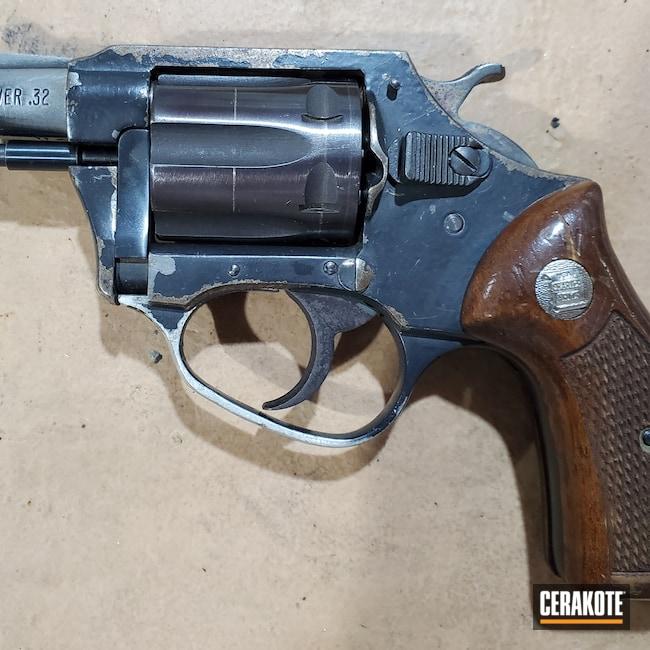 Cerakoted: S.H.O.T,Charter Arms,.32 ACP,Graphite Black H-146,Pistol