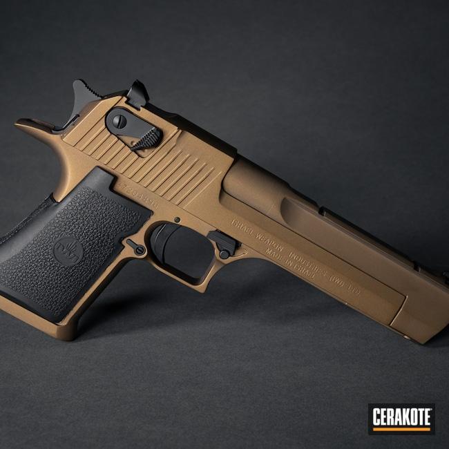 Cerakoted: S.H.O.T,Desert Eagle,Graphite Black H-146,50ae,Burnt Bronze H-148,Magnum Research Inc,Handgun