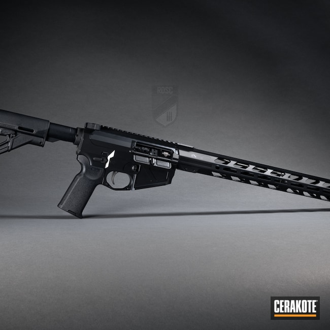 Cerakoted: S.H.O.T,Radian Weapons,BLACKOUT E-100,MagPul,SLR,Maple Ridge Armouries,Strike Industries,Maccabee Defense,Faxon Firearms,AR-15