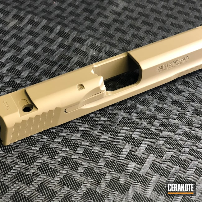 Cerakoted: S.H.O.T,M&P,MAGPUL® FLAT DARK EARTH H-267,Smith & Wesson,Pistol,Firearms