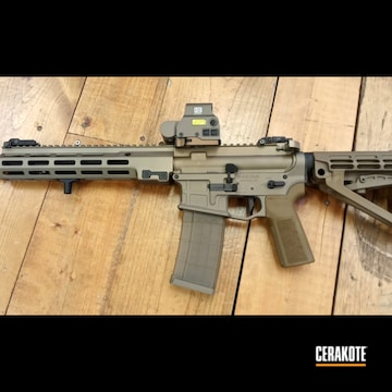 Radian Weapons Ar-15 Build Cerakoted Using Snow White And Burnt Bronze