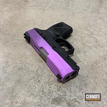 Taurus Millenium G2 Cerakoted Using Wild Purple And Purplexed
