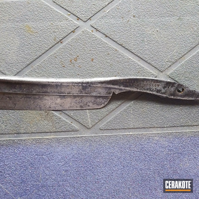 Cerakoted: Burnt Bronze H-148,Barber,Hair Stylist