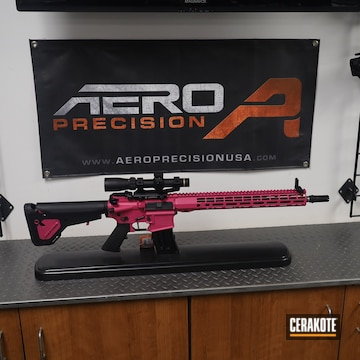 Aero Precision Ar Build Cerakoted Using Sig™ Pink