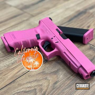 Glock 17 Cerakoted Using Sig™ Pink