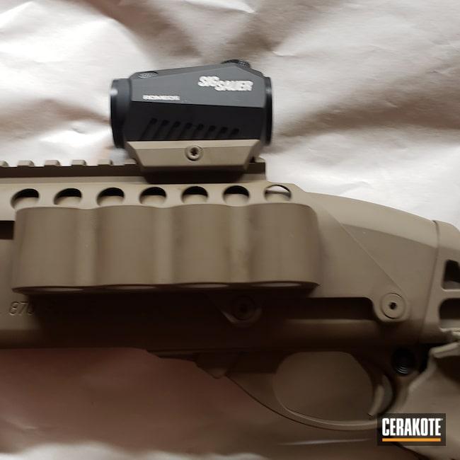 Cerakoted: S.H.O.T,Pump,Shotgun,870,Remington,Flat Dark Earth H-265